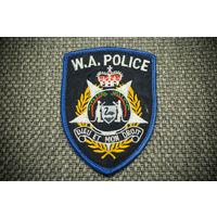 Шеврон Полиция Зап.Австралии (W.A.Police) 1980 г.