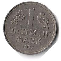 Германия. 1 марка. 1977 F