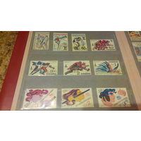 Спорт марки Чехословакия, ЧССР Чехия олимпийские игры бокс атлетика