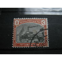 Транспорт, корабли, пароходы, флот, Судан марка