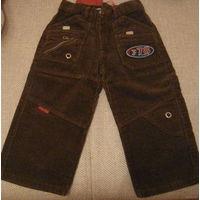 Вельветовые штанишки новые