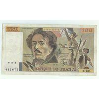 Франция, 100 франков 1987 год.