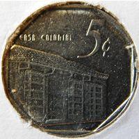Куба 5 сентавос 1994 год
