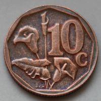 10 центов 2012 ЮАР