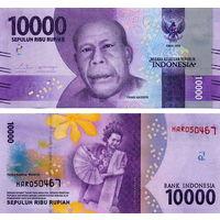 Индонезии 10000 рупий  2018 год  UNC  (новинка)
