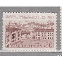 Финляндия 150-летие Хельсинки как столица 1962 год год лот 4   менее 40%  от каталога