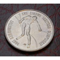 20000 злотых 1994 Польша (памятная - Зимние Олимпийские игры в Лиллехаммар)