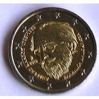 2 евро 2019 Греция Андреас Калвос