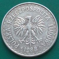 1 злотый 1988 ПОЛЬША