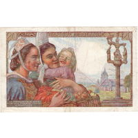 Франция, 20 франков, 1942 г.