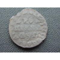 Копейка Петра I 1713 г.