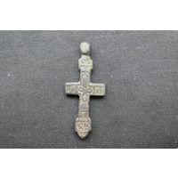 Редкий большой нательный крестик, 15 век.
