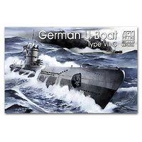 1/350 WWII German U-Boat Type VII C