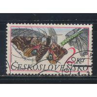 Чехословакия ЧССР 1987 Бабочка #2903