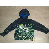 Куртка ветровка для мальчика на 4-5 лет