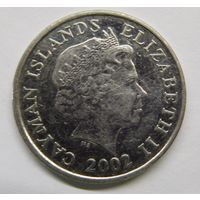Каймановы острова 10 центов 2002 г
