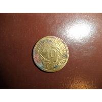 Германия 10 рентенпфеннигов 1924 d