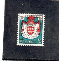 Монако.Ми-480. Герб Монако.1954.