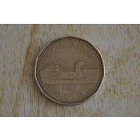 Канада 1 доллар 1987