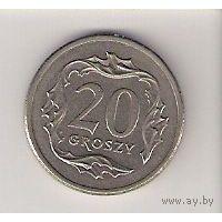 Польша, 20 groszy, 1992г