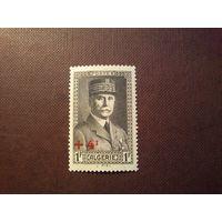 Французский Алжир 1942 г.Анри Филипп Петен- французский военный и государственный деятель; маршал Франции (21 ноября 1918)