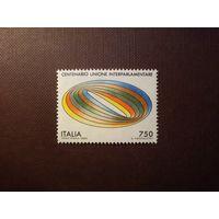 Италия 1989 г.Межпарламентский союз.