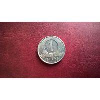 Литва 1 лит, 2001