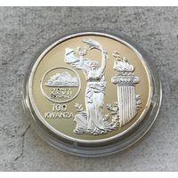 Ангола 100 кванз 1999 - XXVII Летние Олимпийские игры, Сидней 2000 - редкая, тираж 10К! Y