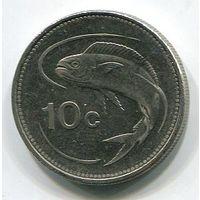 МАЛЬТА - 10 ЦЕНТОВ 1998