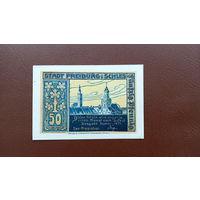 Германия / 50 пфеннигов / 1921 год / Freiburg i Schles / 1