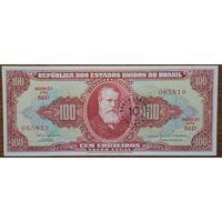 Бразилия, 100 крузейро 1966 год, Р185