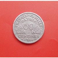 68-12 Франция, 50 сантимов 1944 г.