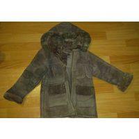 Дубленка куртка детская из натуральной овчины