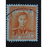 Новая Зеландия 1947 г. Король Георг -VI.