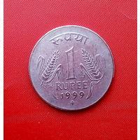 92-14 Индия, 1 рупия 1999 г. (Кремница)
