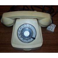 Телефон ВМФ карабельно-каютный с фиксатором трубки.рабочий