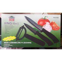 Набор керамических ножей KING Hoff с чехлами в коробке НОВЫЙ