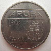 Аруба 1 флорин 1988 г. (g)