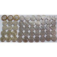 Россия, сборный лот - юбилейные монеты. Отличная подборка. Без М.Ц.