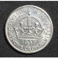 Австралия 1 крона 1937г. -копия-