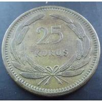 Турция. 25 куруш 1956