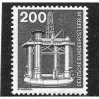 Западный Берлин. Стандарт. Морская буровая установка