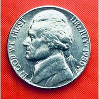 14-25 США, 5 центов 1980 г. (Р)