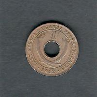 1 цент 1912 г. Н (Восточная Африка, Уганда)
