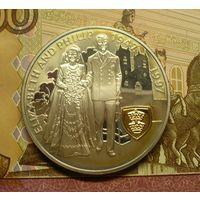 Фолкленды 5 фунтов  1997 г пруф