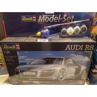 Сборная модель-авто для сборки Revell Audi R8 1:24 Подарочный набор