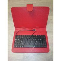 Чехол-клавиатура для планшета, красный