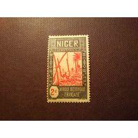 Французский Нигер 1926 г.Заготовка воды .