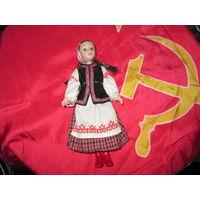 Кукла фарфоровая СССР.Очень красивая!Высота 18 см.