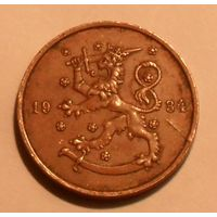 Финляндия, 10 Пенни 1934 (94)